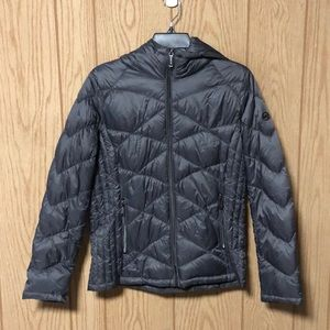 NWOT Michael Kors Hooded Quilted Down Jacket
